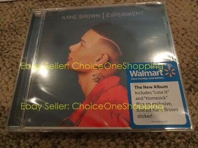 Brand New Sealed KANE BROWN Experiment CD Wal-Mart Walmart Edition with Sticker
