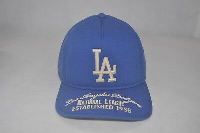 2a1e6353a96b0 New American Needle MLB Los Angeles Dodgers Baseball Blue Men Hat  Adjustable Cap