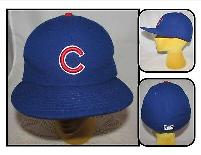 825729ad277 NE CHICAGO CUBS 59Fifty World Series Gold On-Field Fitted Hat Cap ...