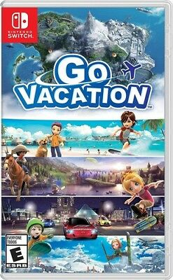 Go Vacation for Nintendo Switch [New Switch]