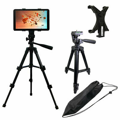 Adjustable Floor Mount Tablet Stand Tripod Holder Stand iPad Android