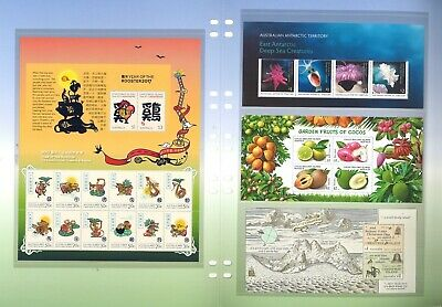 Australia 2017 Territories Collection of Stamps & Miniature Sheets Mint Unhinged