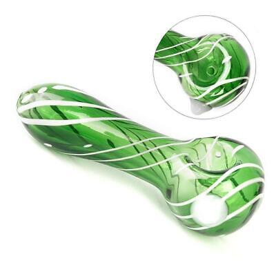 Portable High Borosilicate GLASS Pipe Collectible For Tobacco Smoking Herb Bowl