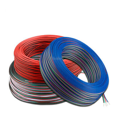 Extension Wire Cable 2PIN 3PIN 4PIN 5PIN 22AWG Single color LED Strip RGBW RGB