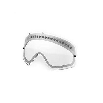Oakley O Frame Genuine Dual Vent Clear Enduro Replacement Lens Free UK Post