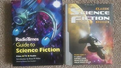 2 Sci-fi Books-Radio Times Guide To Science Fiction & Classic Sci-fi Stories