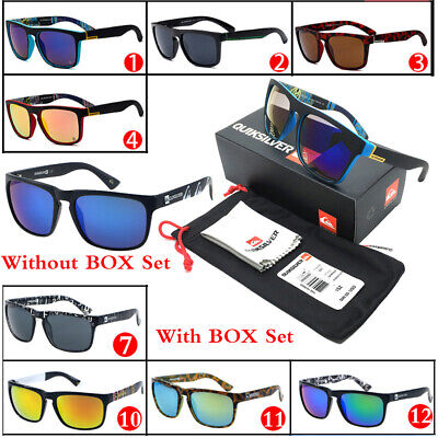 31 Colors QuikSilver Vintage Retro Men Women Outdoor Sunglasses Eyewear With Box
