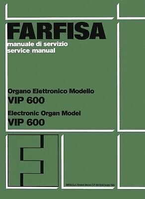 FARFISA VIP 400 Service Manual Schematic TROUBLE SHOOTING ... on