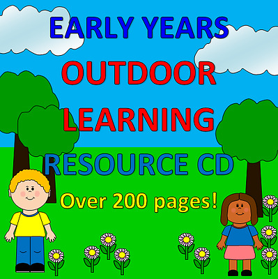 OUTDOOR LEARNING- Childminding resources on CD, EYFS, CHILDMINDER, play