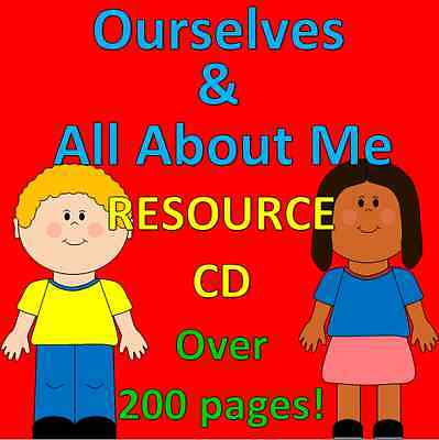 Ourselves & All about Me- Childminding resources on CD, EYFS, OFSTED, senses