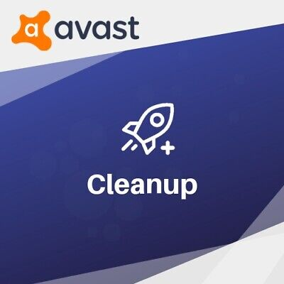 Avast CleanUp 2019 1 PC | 1 Year avast! UK