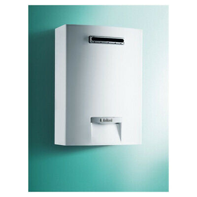 SCALDINO VAILLANT outsideMAG 128/1-5 RT NEW 2019 GPL SCALDABAGNO A GAS 12LT