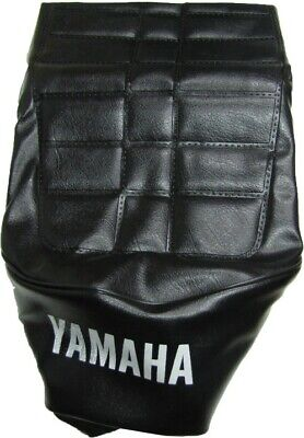 Tailored Black Seat Cover 278205 Yamaha YB 100 1982-1992