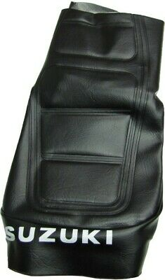 Tailored Black Seat Cover 277188 Suzuki TS 125 ER 1982
