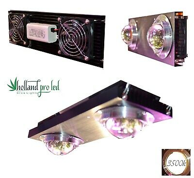 Holland Pro LED Grow Light Lampe 400 Watt HPS Ersatz 3500k Dualspektrum mit COB