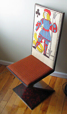"""Jack of Clubs Vintage """"Z"""" Chair – Ca. 1920"""