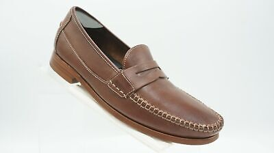 8e51c2f13fa Johnston   Murphy Danbury 20 3340 Size 8.5 M Brown Penny Loafer Dress Mens  Shoes