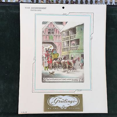 10X WHOLESALE LOT VINTAGE CALENDAR PRINTS 1930 CALIFORNIA COAST PLEIN AIRE 12X9/""
