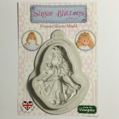 Katy Sue Sugar Button Princess Silicone Mould (157)