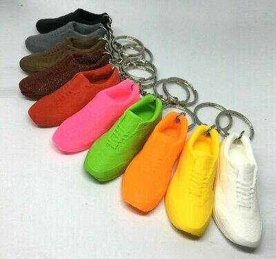 Trainers / Running Shoes Key Chain / Gym Locker Bag Tag - choice of colours