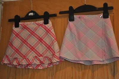 2 X Baby Girls Skirts Age 12-18 Months From Next