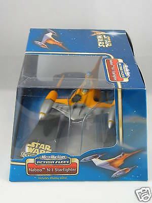 Star Wars Micro Machines Action Fleet  Naboo N-1 Starfighter Action Figure