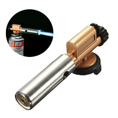 Flame Gas Jet Lighter Torch Welding BBQ Brazing Refillable Cigarette Windproof