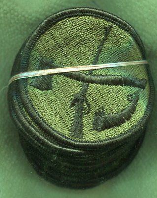 Dealer lot of 20 US Army National Guard West Virginia OD Subdued Patches
