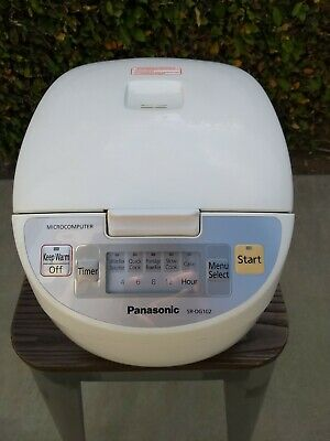 Panasonic SR-DG182 Electronic Rice Cooker Warmer working tested