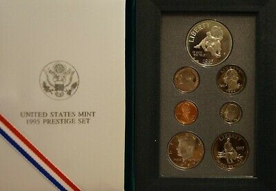 1995 S BU Civil War Commemorative Half Dollar Mint Set w//Box /& COA Clad 50c US