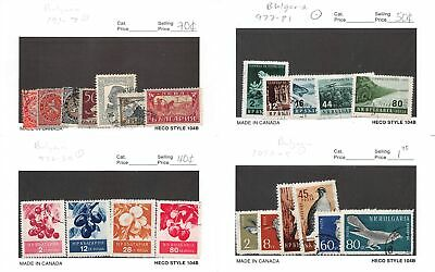 Lot of 136 Bulgaria Used Stamps #134694