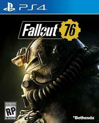 Fallout 76 PlayStation 4 PS4 Bethesda Brand New Sealed