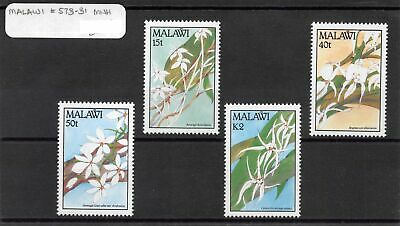 Lot of 6 Malawi MNH Mint Never Hinged Stamps Scott # 533, 578-581 #131642 X