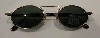 Vintage Wired 931 Antique Gold 44/20 Sunglasses Glass Lenses NOS #309