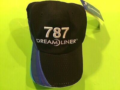e9401fa646a94 BOEING HAT 787 Dream Liner First Flight Adjustable Baseball Cap ...