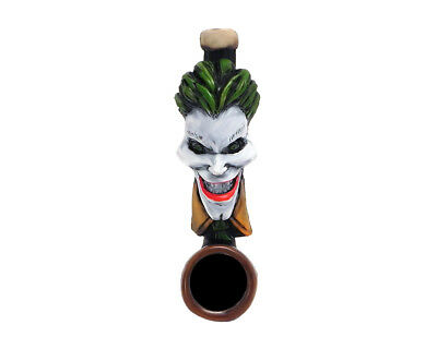 Big Head Joker Evil Clown Handmade Tobacco Smoking Mini Pipe Villain Character