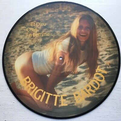 RARE BRIGITTE BARDOT: And God Created The Woman LP (Netherlands, pic disc)