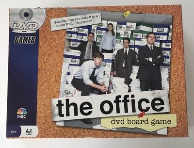 The Office DVD Board Game 2008 Pressman Complete