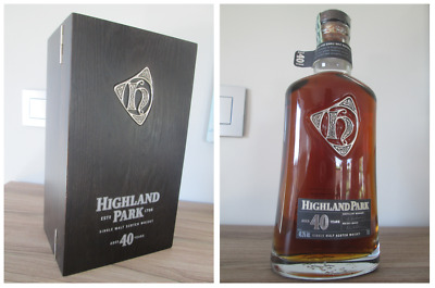 Highland Park Aged 40 Years - RARE Limited Release - BNIB