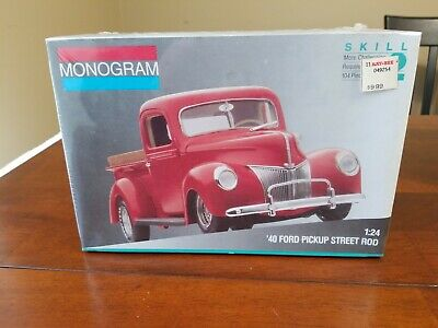 MONOGRAM 2720 '40 Ford Pickup with All American Models Resin