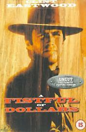 A Fistful Of Dollars Dvd Clint Eastwood Brand New & Factory Sealed