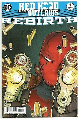 Red Hood and the Outlaws #1 ~ DC's Rebirth ~ NM ~ Variant and Regular Covers