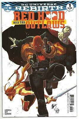 Red Hood and the Outlaws #1 NM ~Regular and Variant covers ~ DC Universe Rebirth