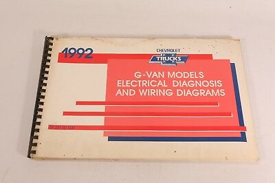 1992 chevy g van wiring diagram manual g10 g20 g30 sportvan electrical  chevrolet