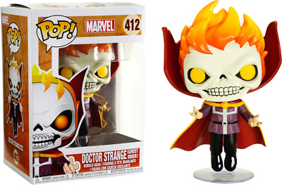 Funko Pop! Doctor Strange - Doctor Strange as Ghost Rider #412 Exclusive