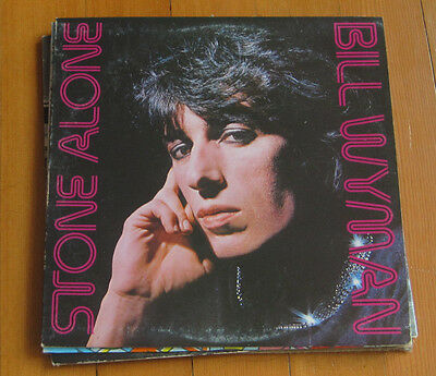 FREE 2for1 OFFER-Bill Wyman–Stone Alone: Rolling Stones Records–COC 7910/LP