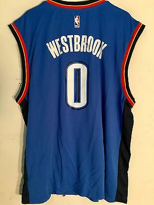 designer fashion 0237d d8c79 OKLAHOMA CITY THUNDER NBA Russell Westbrook Youth Jersey ...