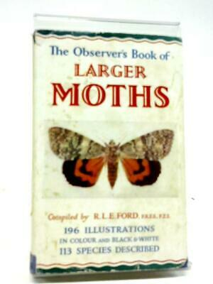 The Observer's Book of the Larger British Moths (R.L.E. Ford - 1963) (ID:79057)