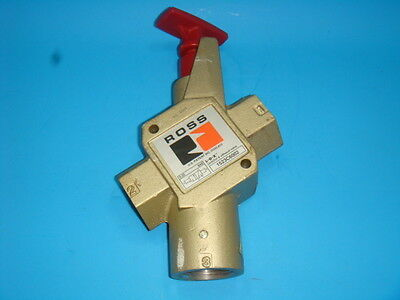 New Ross, L-O-X, Lock Out & Exaust Valve, 1523 C 6002, 1523C6002, New No Box