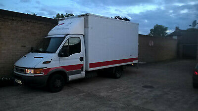 Iveco daily luton van with tail lift